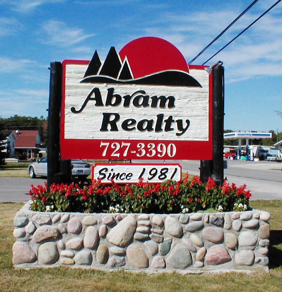 Abram Realty Road side Sign